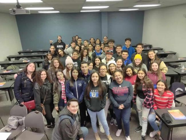 Bowie High visits DIFS - November 15, 2018